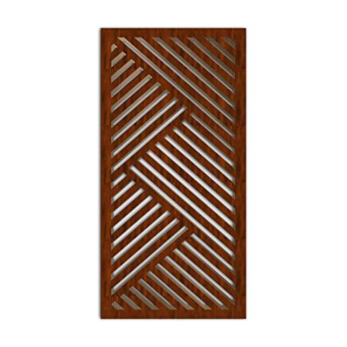 Great Price! NISH! Decorative Carved MDF Wood Wall Panels for Room Partition, Screen, Divider, Door,...