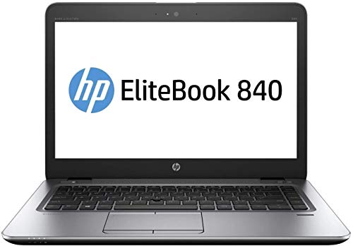 (Renewed) HP EliteBook 840 G3 14.5-inch Laptop (Core i5 6th Gen/8GB RAM(Upgradable to 32)/256GB SSD/Windows 10 Pro/MS Office 2019/More than 4 GB Intel HD Integrated Graphics, Backlit Keyboard), Silver