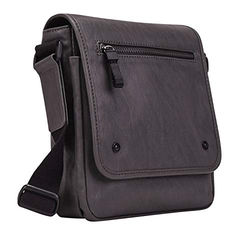 Leonhard Heyden Cult Messenger Bag S Grey