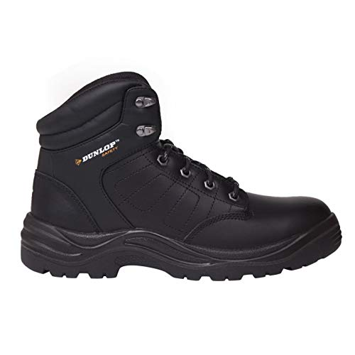 Dunlop Hombre Dakota Botas De Seguridad Negro EU 41 (UK 7)