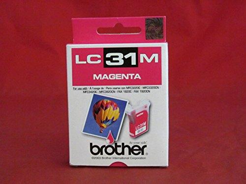 Brother Brother - Cartucho de tinta magenta modelo LC31M
