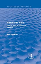 Genre and Void: Looking Back at Sartre and Beauvoir (Routledge Revivals)