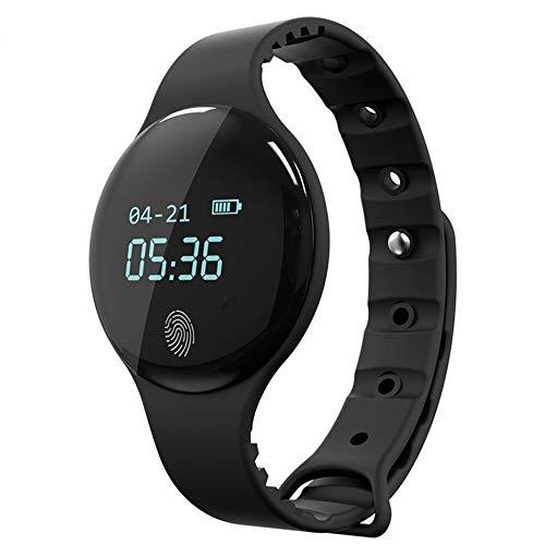 Ronde wijzerplaat Smart Watch vrouwen sporthorloge calorieën stappenteller horloges