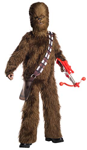 Rubie's Star Wars Classic Child's Deluxe Chewbacca Costume & Mask, Small