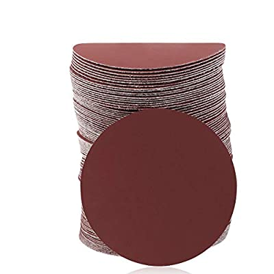 SPEEDWOX 100pcs Sanding Discs 3 Inch Sandpaper 2000 Grit Hook and Loop Sanding Discs for Drill Grinder Rotary Tools No Hole