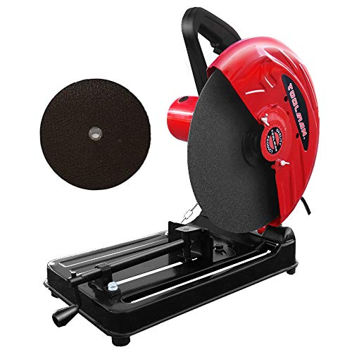 Toolman 14'' 15A Power Tools Multi-purpose Cutting Metal Saw Chop Saw Cut Machine Diamond Circular Saw Heavy Duty Power Tool 8350
