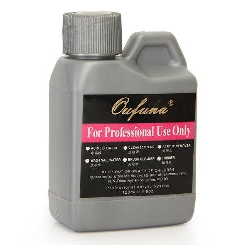 GONO Acryl-Flüssigkeit für Nailart, auf Pulver-Basis, 120 ml