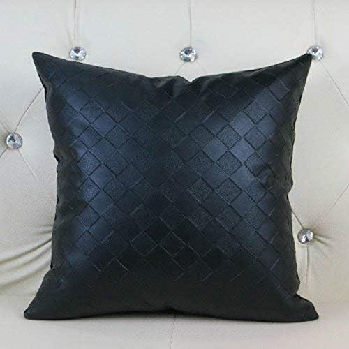 tienda en linea Giow Lattice Pillow Fashion Simple Modern Pillow Pillow Pillow marrón negro Funda de Almohada Cojín negro, Tamaño  60  60cm  hasta 42% de descuento