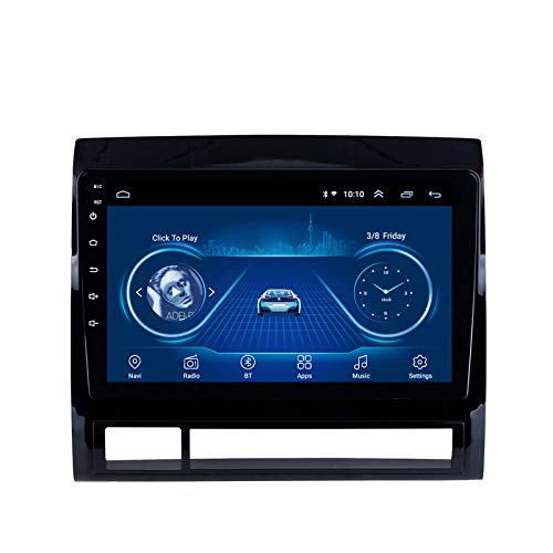 Benature Android Car Sat Nav para Toyota Tacoma 2005-2013 Unidad Principal Sistema De Navegación GPS SWC 4G WiFi BT USB AUX Radio Mapa Dispositivo De Navegador Satelital