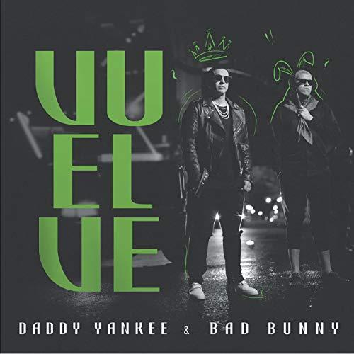 Vscdye Daddy Yankee & Bad Bunny Vuelve Portada del Álbum Póster Artístico Impresión De Pared Lienzo Decoración para La Sala De Estar del Hogar Regalo (70X70Cm) -28X28 Sin Marco