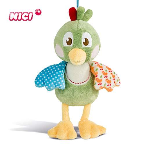 NICI Speeldoos Fritz de Spatz - Baby Speeldoos vanaf 0+ maanden voor jongens en meisjes - Speeldoos als perfecte hulp in slaap - Voor babybed, kinderwagen, babyschaal of baby knuffeldier - 43946