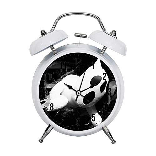 Tclothing Kind Wecker Retro stille Zeiger Uhren Wecker Starke Nachttische Licht Haus Dekorationen...