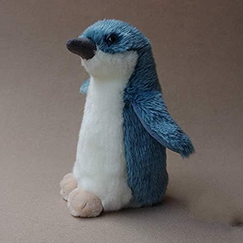 NC86 Juguete de Peluche, muñeco de pingüinos Azules Bonitos, Juguetes para niños, muñecos de Animales de Peluche de la Vida Real, Regalo de cumpleaños, Tiendas de Juguetes