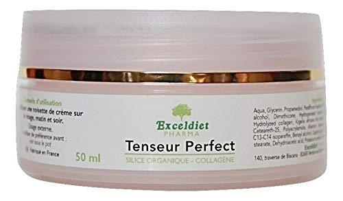 El cuidado facial una crema Anti- Rides Ultra dureza y un sérum Anti- Cernes à l 'ácido hialurónico. exceldiet, la Marca Verde.