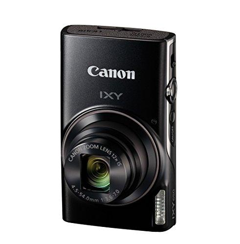 Canon コンパクトデジタルカメラ IXY 650 ブラック 光学12倍ズーム Wi-Fi対応 IXY650BK