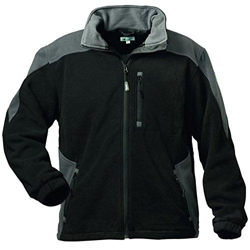 Elysee 23310-3XL Fleece-Jacke Chelsea Größe 3XL in schwarz/grau