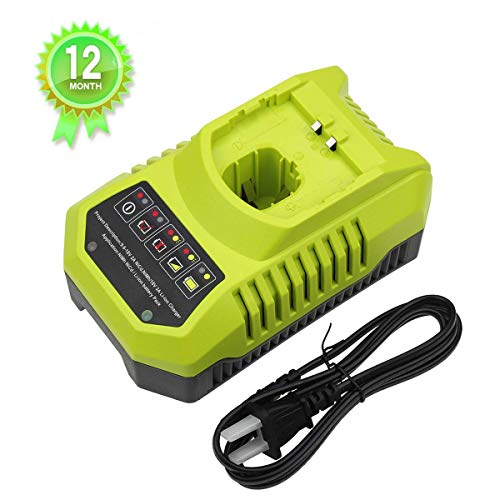 P117 Dual Chemistry IntelliPort Battery Charger Replacement for Ryobi 12V-18V One+ Plus NiCd NiMh Lithium Battery P100 P101 P102 P103 P105 P107 P108 P200 1400670