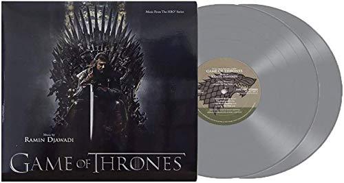 Game Of Thrones (Exclusive 2XLP Valyrian Steel Silver Color Vinyl) [Condition-VG+NM]