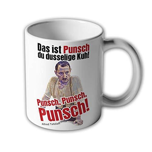 Alfred Tetzlaff Punsch Silvesterpunsch dusselige Kuh Kult Serie - Tasse #10636