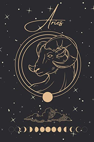 Aries: Zodiac Notebook, Horoscope Journal, Perfect Gift for Astrology Lovers, 120 Pages, Small (6' x 9')