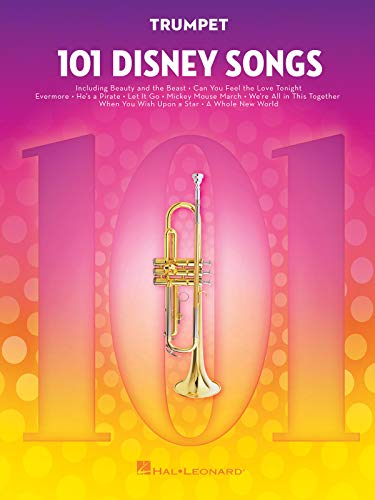 101 Disney Songs -For Trumpet-: Noten, Sammelband für Trompete