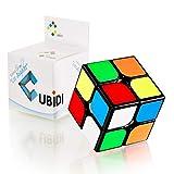 CUBIDI® Cubo Mágico 2x2 - Tipo Los Ángeles - Look Clásico – Fidget Toy 2x2x2 con Características Optimizadas de Speed Cubing - Juguetes Sensoriales para Anti Estrés - para Niños y Adultos