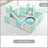 PNFP Parque infantil, valla infantil for niños Área de juegos interior con...