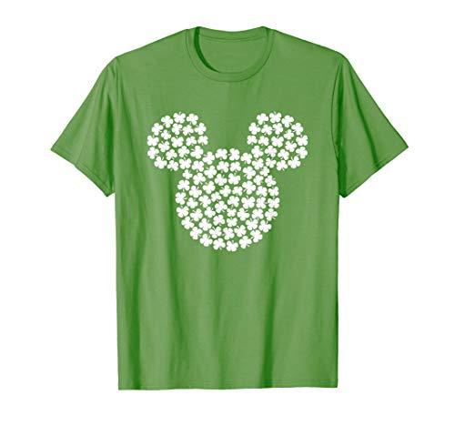 Disney Mickey Mouse Shamrocks St. Patrick's Day T-Shirt