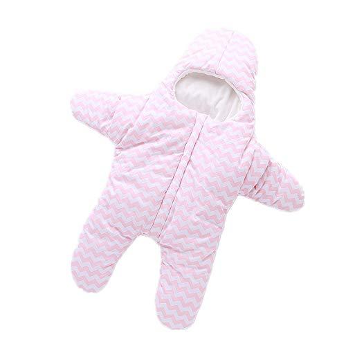 Eastery Sacchi A Pelo per Neonati (0 3 Anni) Sacchi A Stile Semplice Pelo per Neonati in Cotone (125# A Rosa) Elegante E Confortevole in Stile Moderno (Color : A : Pink, Size : 105#)