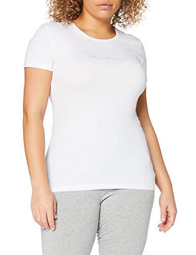 Emporio Armani Underwear Damen T-Shirt, Bianco, XS