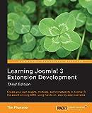 Learning Joomla! 3 Extension Development by Tim Plummer