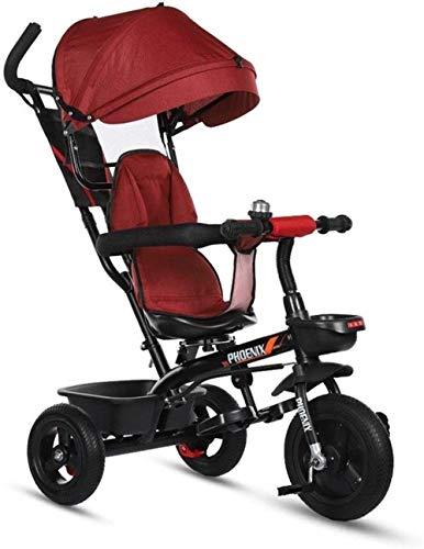 Pushchairs kindertrikes driewieler wandelwagen driewieler met drukknop handvat outdoor baby fiets binnen en buiten driewieler geschikt kinderen leeftijd 1-3-6 als baby producten