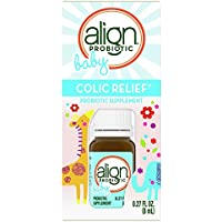 Align Baby and Infant Probiotic Drops 25 Doses of Colic Relief