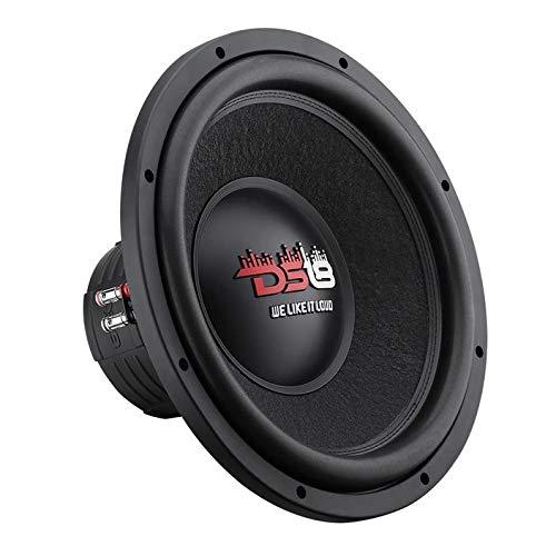 "DS18 Elite Z-VX15 15"" Car Subwoofer, 1500 Watts Max Power, Dual 4 Ohm (15 Inch)"