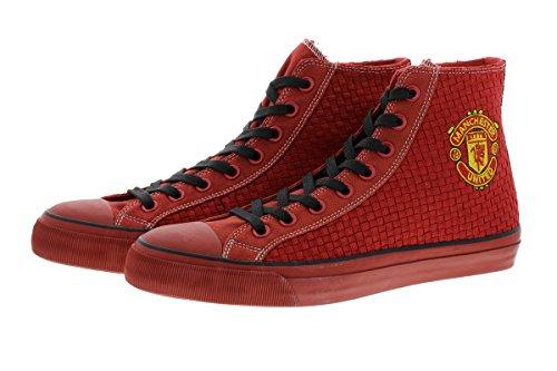 Manchester United 2016/17 Edition CLIFF D115 Herren Sneaker Schuhe Manu Leder Halbschuh Fan Sneakers camouflage (41)