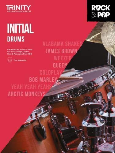 Trinity College London Rock & Pop 2018 Drums Initial Grade CD Only (Trinity Rock & Pop)