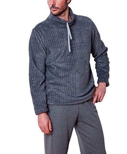 Pijama Hombre coralina y algodón