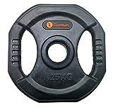 Sveltus - Disco Pump con Asas (1,25 kg, Unisex, Talla Europea), Color Negro
