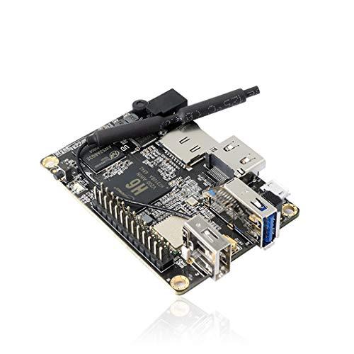 Taidacent Orange Pi Lite2 H6 A53 Quad Core 64 Bit Development Board 1GB Memory WiFi + Bluetooth Programming Microcontroller