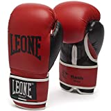 Guantes de Boxeo Leone Flash (Rojo, 10 oz)