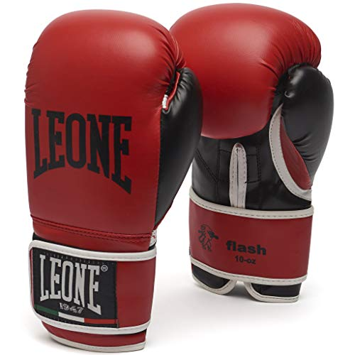 Leone 1947 Flash Boxhandschuhe, Rot, 10 Uz