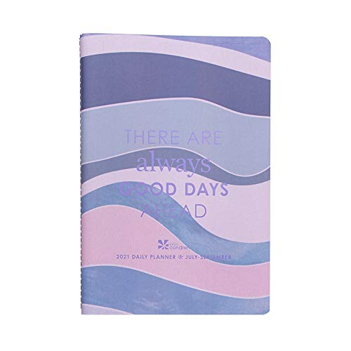 Erin Condren Designer Petite Planner 2021 Daily Planner Volume 3 (July 2021 - September 2021) - Day-to-Day Planning, Organization, Featuring Dated Daily & Monthly Spreads, Mini-Months & Checklists