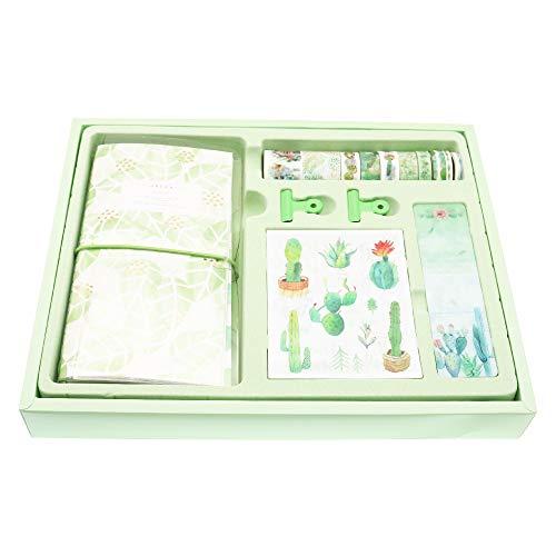 BITEYI Bullet Journal set,Washi Tapes,Adesivo Decorazioni Colorato per Scrapbook,Diari (Foglia verde)