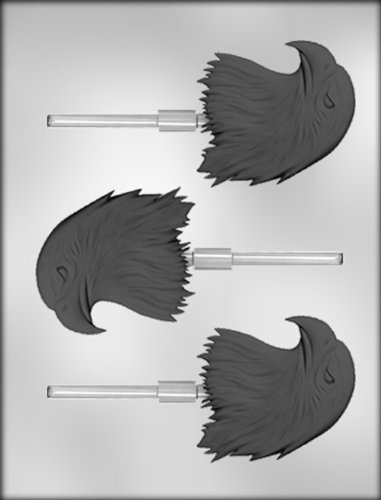 CK Products 2-3/4-Inch Eagle Head Sucker Chocolate Mold