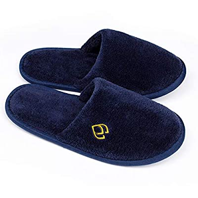 Blue Spa Slippers Closed