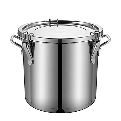 Review Of Airtight Canisters Stainless Steel,Flour Container Airtight Canister Sets for Kitchen Co...