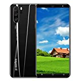 New Unlocked Smartphone, 5.0 inch Dual SIM HD Camera 1G+4GB Android 5.1 Water Screen GPS WiFi Unlocked Cell Phones (Black)