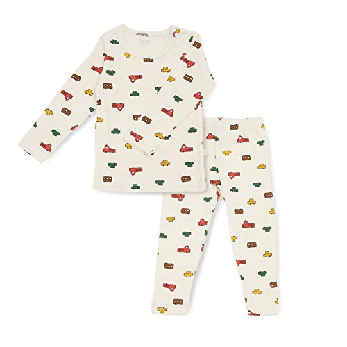 Image of All Over Print Cars Pajamas for Toddler Boys and Infants - See More Prints