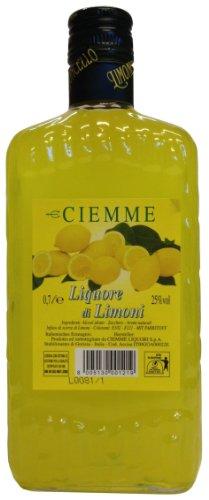 Limoncello Distilleria Ciemme, Liquore di Limoni 0,7 L, Italienischer Zitronenlikör 25% Vol. - 2