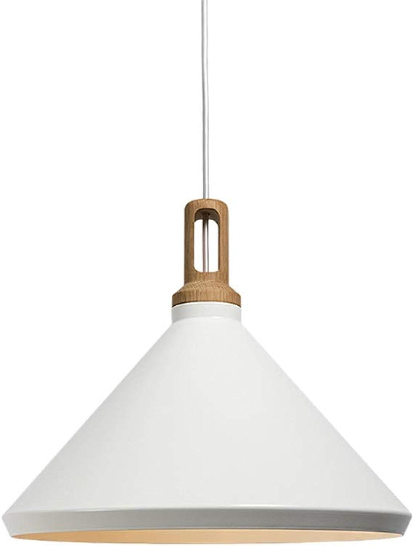 XXSS Moderne Kronleuchter LED Schmiedeeisen Kronleuchter Deckenleuchte Schwarz Wei Schlafzimmer Nachttischlampe Kronleuchter Holz Esstisch Dekoration Kronleuchter (Farbe   B)